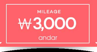 안다르적립금3,000원