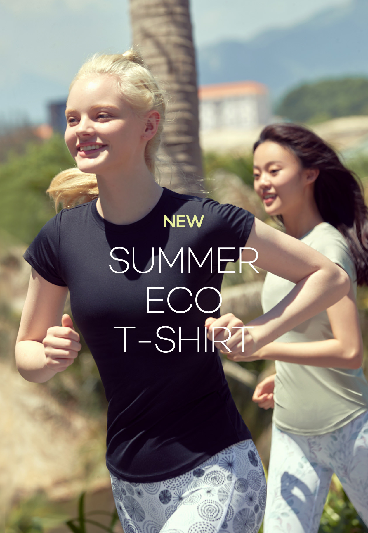 new summer eco t-shirt